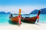 Typische Boote - Thailand