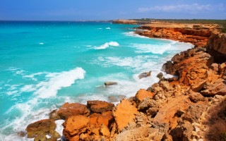 Cala Saona Küste - Formentera