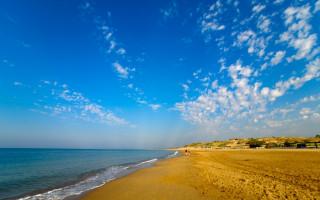 Strand von Side - Türkei
