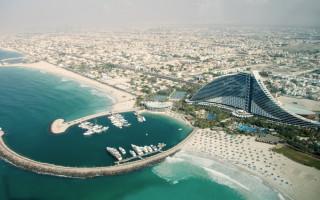 Burj Al Arab in Dubai - Jumeirah Beach